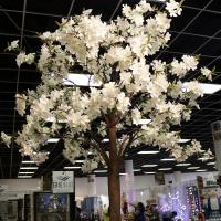TR10211WH Apple Blossom Tree 10 Branches White 6'